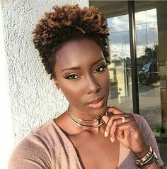 Beautiful Black Women With Hair - Essence Natural Hair Short Cuts, Tapered Natural Hair, Natural Hair Styles, Natural Beauty, Au Natural, Pure Beauty, Black Beauty, Black Girls Hairstyles, Afro Hairstyles