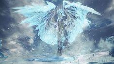 Monster Hunter World: Iceborne Bestiary Day 3 – Elder Dragon Velkhana - Game Informer Monster Hunter Games, Monster Hunter World, Anime Couples Manga, Cute Anime Couples, Anime Girls, Elder Scrolls Dwemer, Dragon Armor, Manga Illustration, Manga Girl