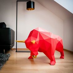 Papertrophy. Modernos trofeos de animales, de papel. | Mil Ideas de Decoración