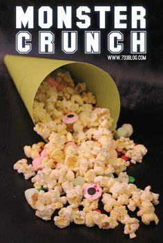 Monsters University Scare-tastic Monster Crunch #scareedu #shop #cbias