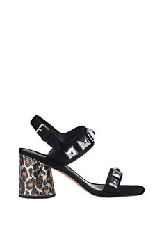 e84024cae4032 Marc Jacobs suede sandals with ankle strap