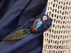 Новая птичка брошь из замши с лабрадором в наличии - Ярмарка Мастеров - ручная работа, handmade
