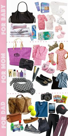Sparkling Footsteps: Packing Your Hospital Bag by Mallory from Charming in Charlotte