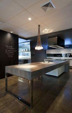 Amazing contemporary kitchen design. Homesandlifestylemedia.com #design #architecture #kitchen