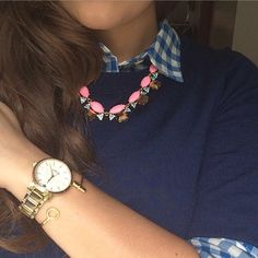 "Mia Ciofolo on Instagram: ""Gingham. All. Day. And a look at today's accessories  #ginghamlove"""