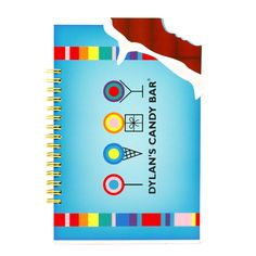 Dylan's Candy Bar Scented Notebook | Lifeguard Press