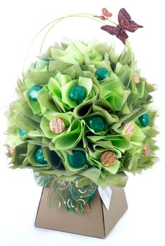 Love handmade gifts? Love chocolate? Love everything minty? . . . Then you will love this Mint Chocolate Bouquet by The Chocolate Florist! Visit www.thechocolateflorist.co.uk to find out more about us.