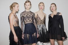 Backstage - Christian Dior Haute Couture Spring 2016 - Paris