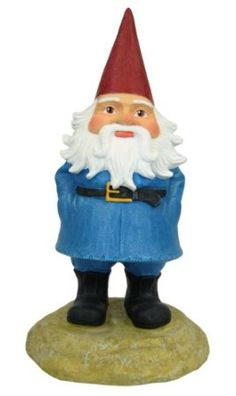 Because every good garden needs one  #garden #gnome