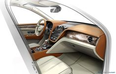 Bentley Bentayga interior dashboard rendering (2012)