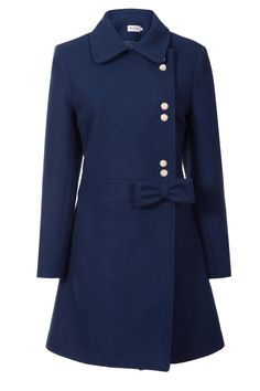#MissPatina Carnaby Coat in Midnight Blue #Fashion
