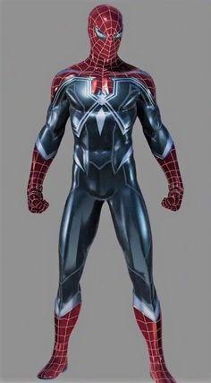Marvel Fanart, Marvel Comics, Marvel Memes, Spiderman Suits, Spiderman Art, Amazing Spiderman, Marvel Comic Character, Comic Book Characters, Marvel Characters