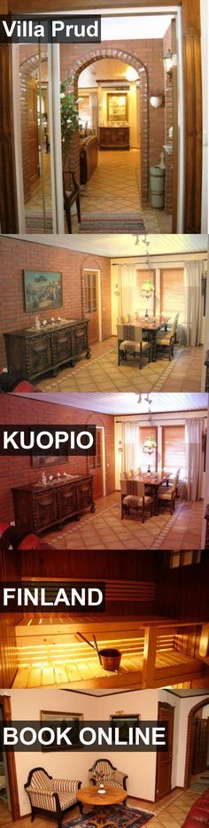 Hotel Villa Prud in Kuopio, Finland. For more information, photos, reviews and best prices please follow the link. #Finland #Kuopio #travel #vacation #hotel