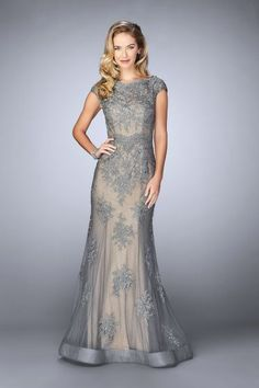 Shop mother-of-the-bride dresses at Simply Dresses. Long evening dresses, formal mother-of-the-bride gowns, short party dresses for mother-of-the-bride, mother-of-the-groom dresses, and MOB dresses. Beautiful Evening Gowns, Lace Evening Gowns, Beautiful Dresses, Mother Of The Bride Dresses Long, Mothers Dresses, Mob Dresses, Formal Dresses, Halter Dresses, Formal Prom