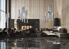 Lobby #inspirations #designinspiration #moderninteriordesign decorate, interior design, luxury design . See more inspirations at www.luxxu.net