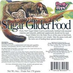 Pretty Bird International Sugar Glider Food for Birds 12Ounce -- You can get more details by clicking on the image.Note:It is affiliate link to Amazon.