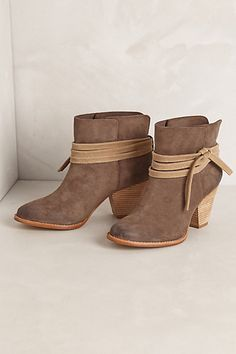 Oxbow Ankle Boots #anthropologie
