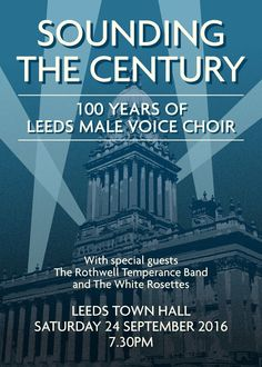 A teaser poster of our 100th anniversary concert.