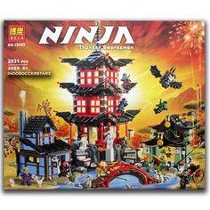 LEGO BELA 10427 NinjaGo Temple of Airjitzu