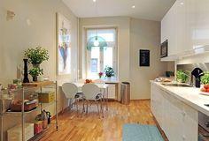Swedish Kitchen Design Ideas with Modern Bar Stools: Wooden Floor Blue Chandelier Swedish Kitchen Design Ideas ~ dickoatts.com Kitchen Inspiration