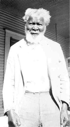 Mose Hursey, former slave from Red River County, Texas