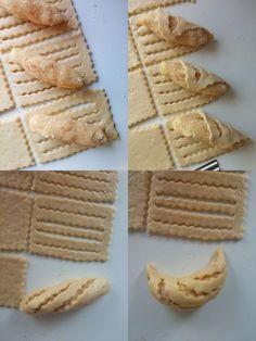 Hamur şekilleri Pastry And Bakery, Bread And Pastries, Turkish Recipes, Indian Food Recipes, Bakery Recipes, Cookie Recipes, Healthy And Unhealthy Food, Babka Recipe, Pasta Casera