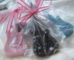 Rock and Roll Guitar Soap Party Favor Set of 10 by ajsweetsoap, $39.50
