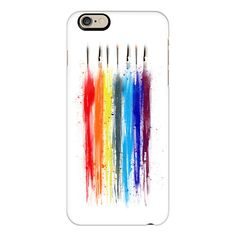 iPhone 6 Plus/6/5/5s/5c Case - Abstract paint ($40) ❤ liked on Polyvore featuring accessories, tech accessories, phone cases, cases, iphone case, iphone cover case, slim iphone case and apple iphone cases