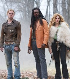 Cam Gigandet, Edi Gathegi, and Rachelle Lefevre  As James, Laurent and Victoria in 2008's Twilight