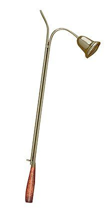 24 Inch Candle Lighter with Bell Snuffer: Manufactured by a Catholic owned and operated company with a heritage rich in tradition and a commitment to offering the finest selection of religious products. Candle Store, Candle Accessories, Brass Color, Solid Brass, Lighter, Cleaning Wipes, Candle Holders, Candles, Traditional