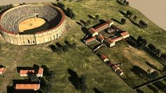 Gladiatoren Schule / Gladiators school / Carnuntum