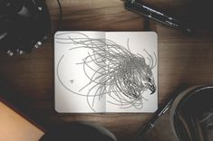 Surreal Creatures Bloom And Burst Across My Sketchbook | Bored Panda
