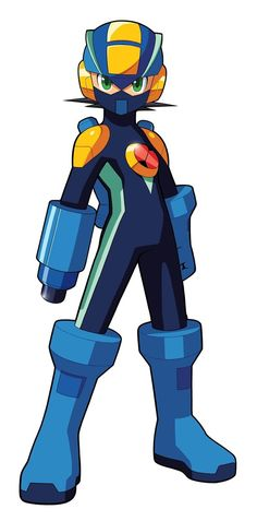 megaman+nt+warrior+megaman+mask | MegaMan.EXE Battle Form Custom Art by MegamanXstream