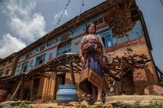 In the year since Nepal's devastating earthquake that killed more than 9,000 and destroyed nearly a million homes, Nepalese women have taken a leadership role in helping to clear debris, rebuild co…