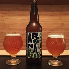 Drake's Aroma Prieta - the sister beer to the fantastic Aroma Coma - shakes it up with New Zealand #hops. A delicious fresh and different #IPA