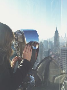 Top of the rock | NYC / pinterest.com/alexandraahodge