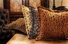 Cheetah Pillow by Isabella Collection at Bedding Super Store.com
