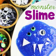 How to Make Not-So-Scary Monster Slime Kids Will Adore