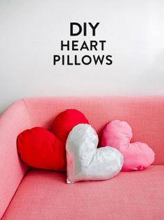 DIY: Heart Pillows