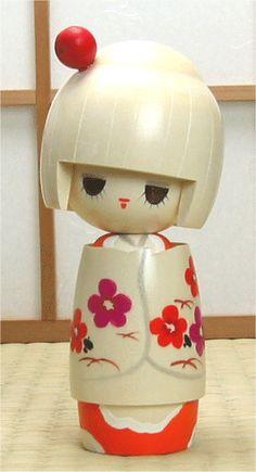 Kokeshi - Japanese wooden dolls