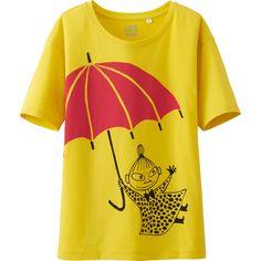 女裝 Moomin 印花T恤(短袖) | UNIQLO Painted Clothes, Fashion Days, Moomin, Uniqlo, Shirt Dress, T Shirt, Book Worms, Digital Prints, Swimwear