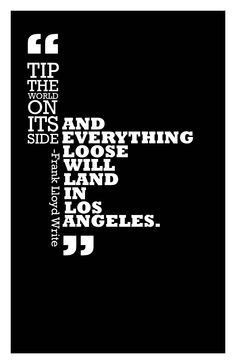 My project, LA Quote week 3, Rockwell Typeface