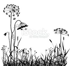 Summer Meadow With Variable Plants Printables