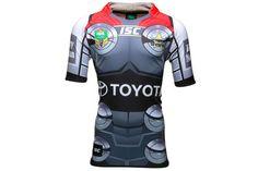North Queensland Cowboys NRL Thor 2014 Marvel Ltd Edition S/S Replica Rugby Shirt