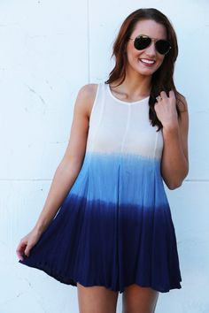 Ombre Summer Dress - The Rage