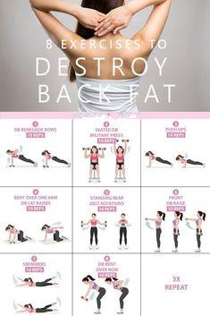 Ultimate back fat destroyer workout plan