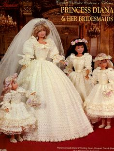Princess Diana Wedding Doll | Barbie, Tonner and other fashion dolls ...