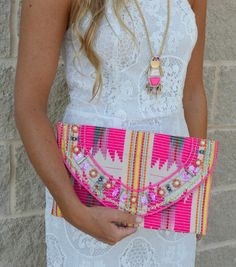 Nightime In Rio Clutch | Haute Pink Boutique