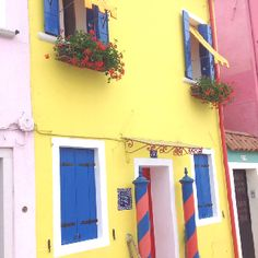 Burano, Italy - Such a colorful and happy place.