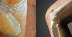 gelatina para curar las articulaciones y los huesos